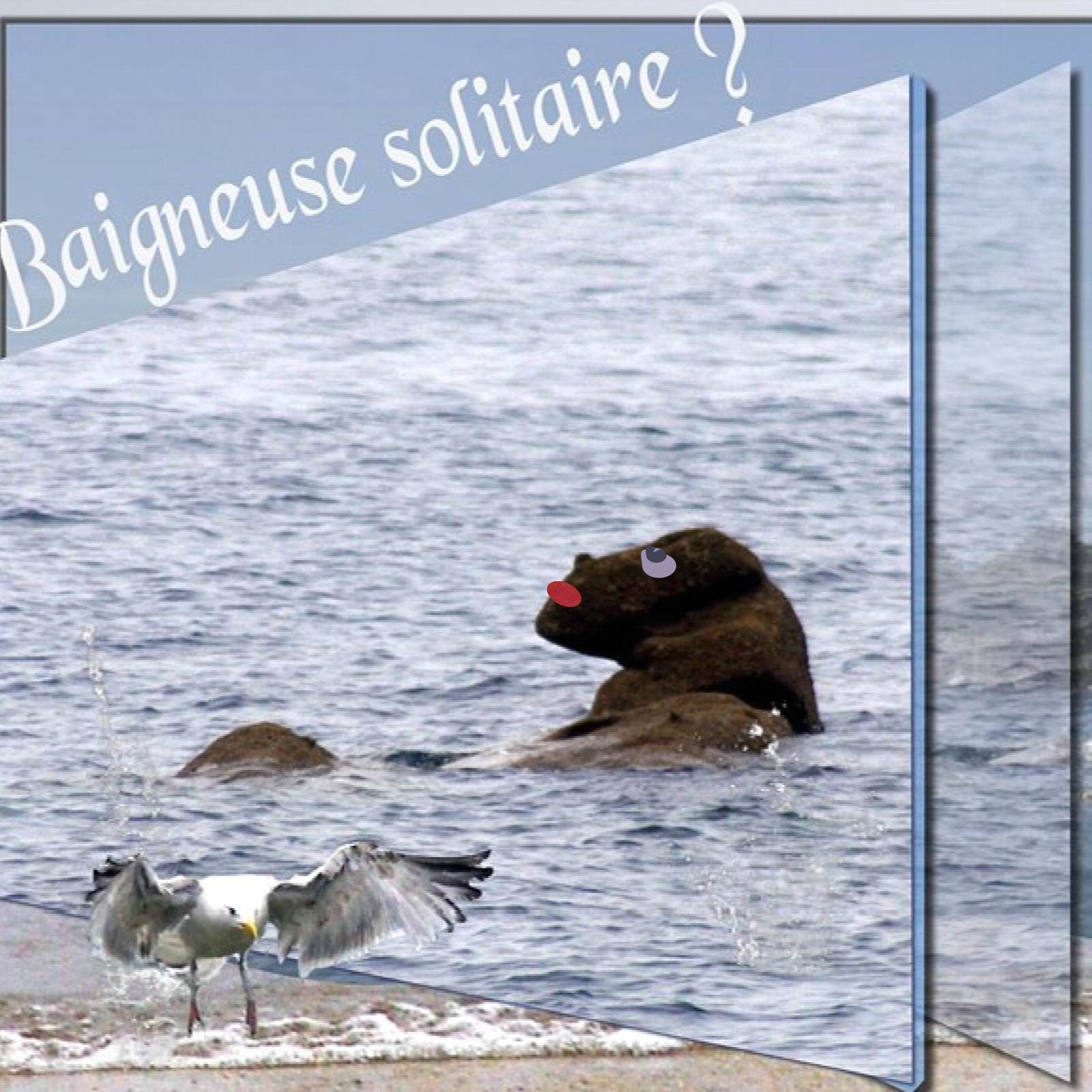 Baigneuse solitaire