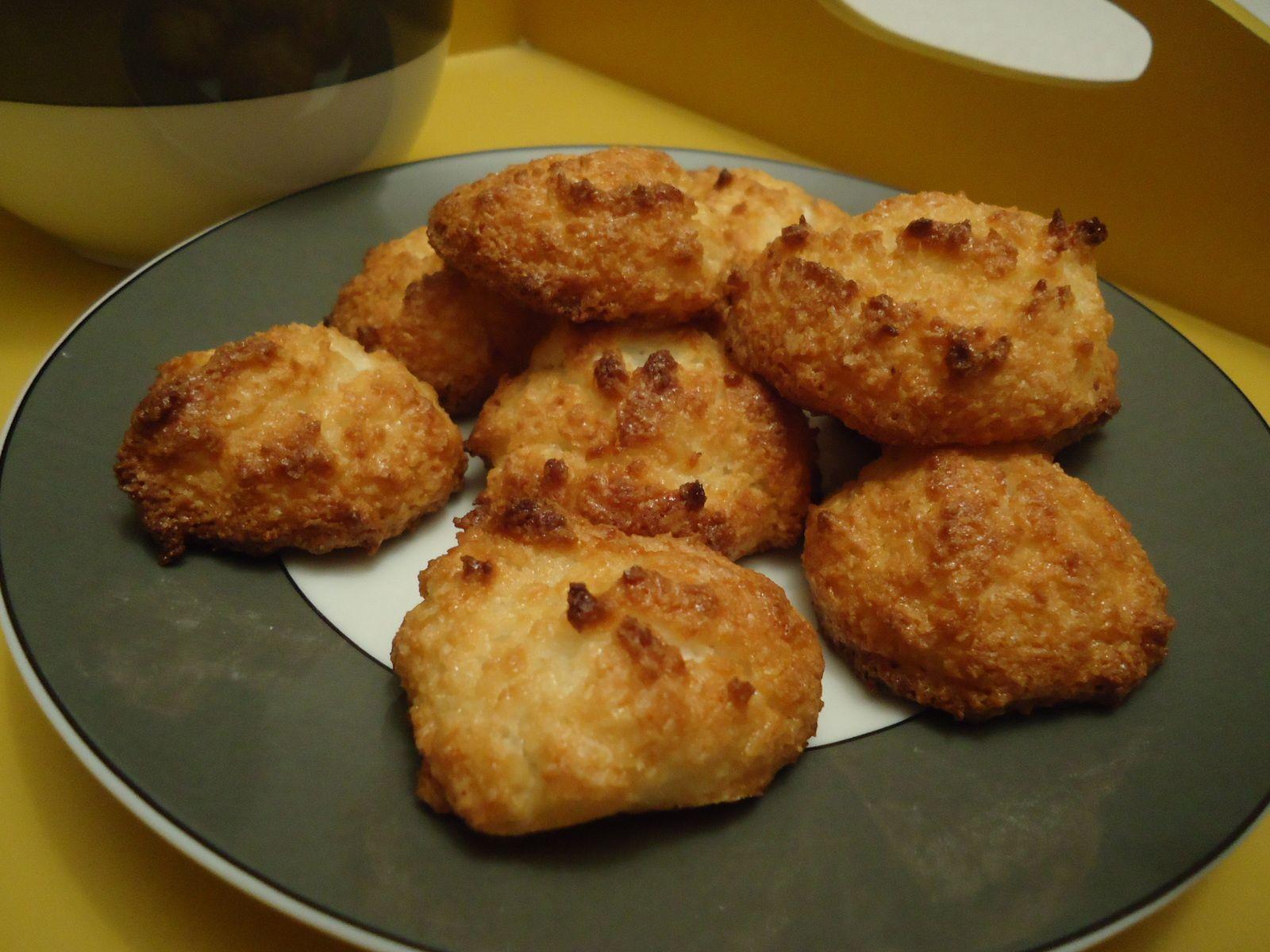 Rochers à la noix de coco facile