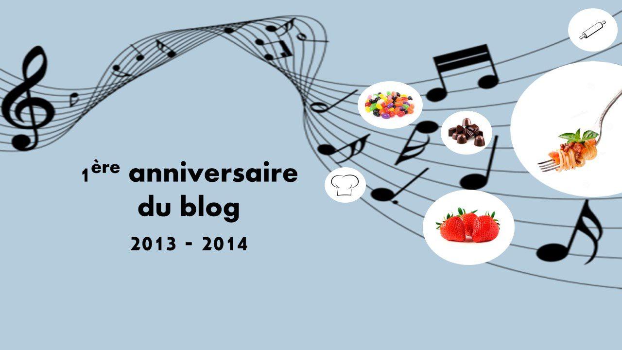 1er anniversaire du blog &amp&#x3B; nouvelle mise en page