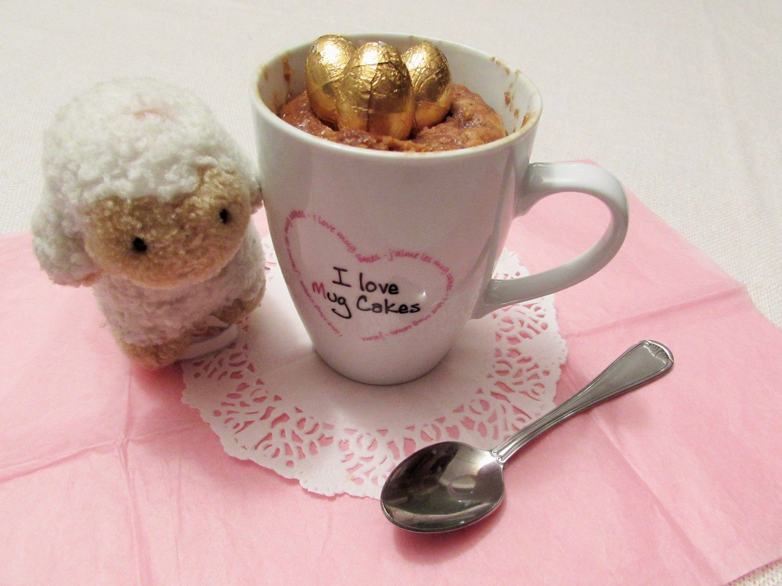Recette Mug Cake Ferrero