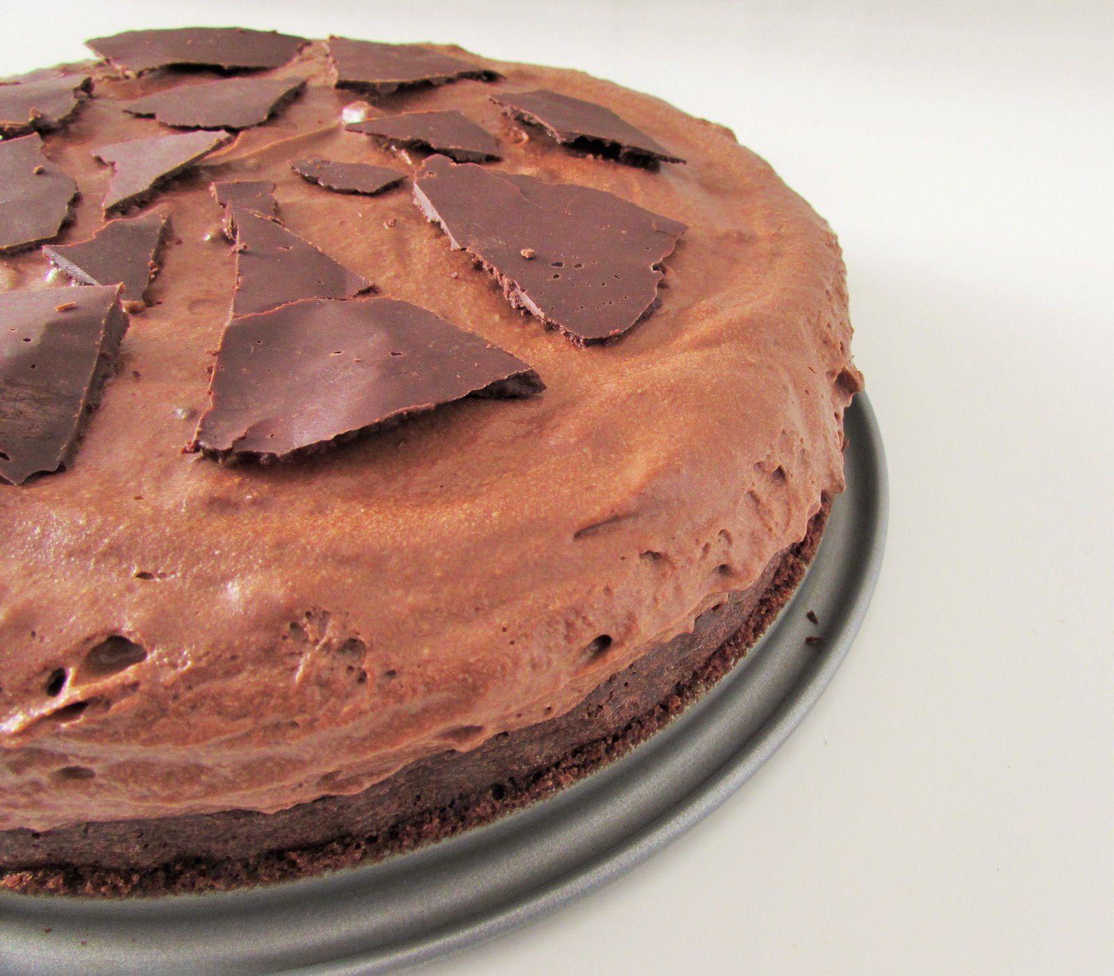 Gâteau au chocolat mi- moelleux mi- mousseux #Pâques