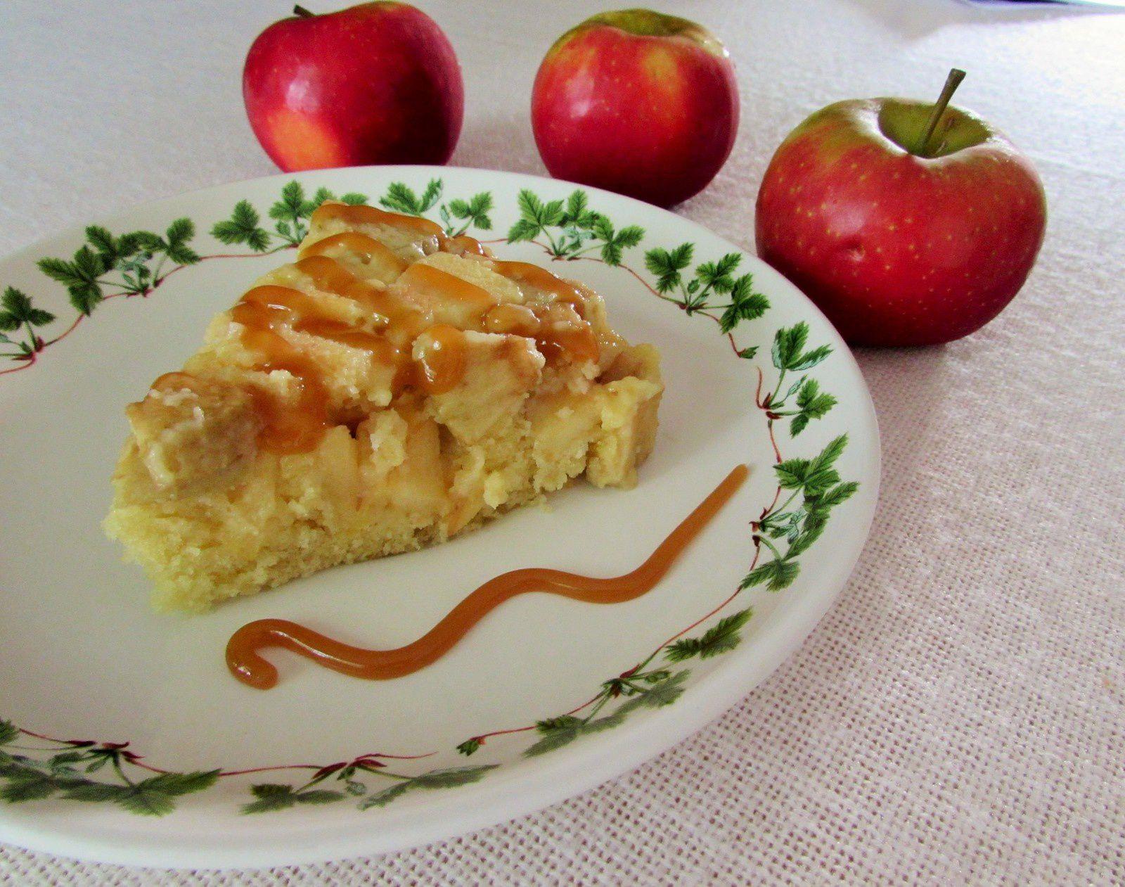 Gâteau aux pommes au micro-onde