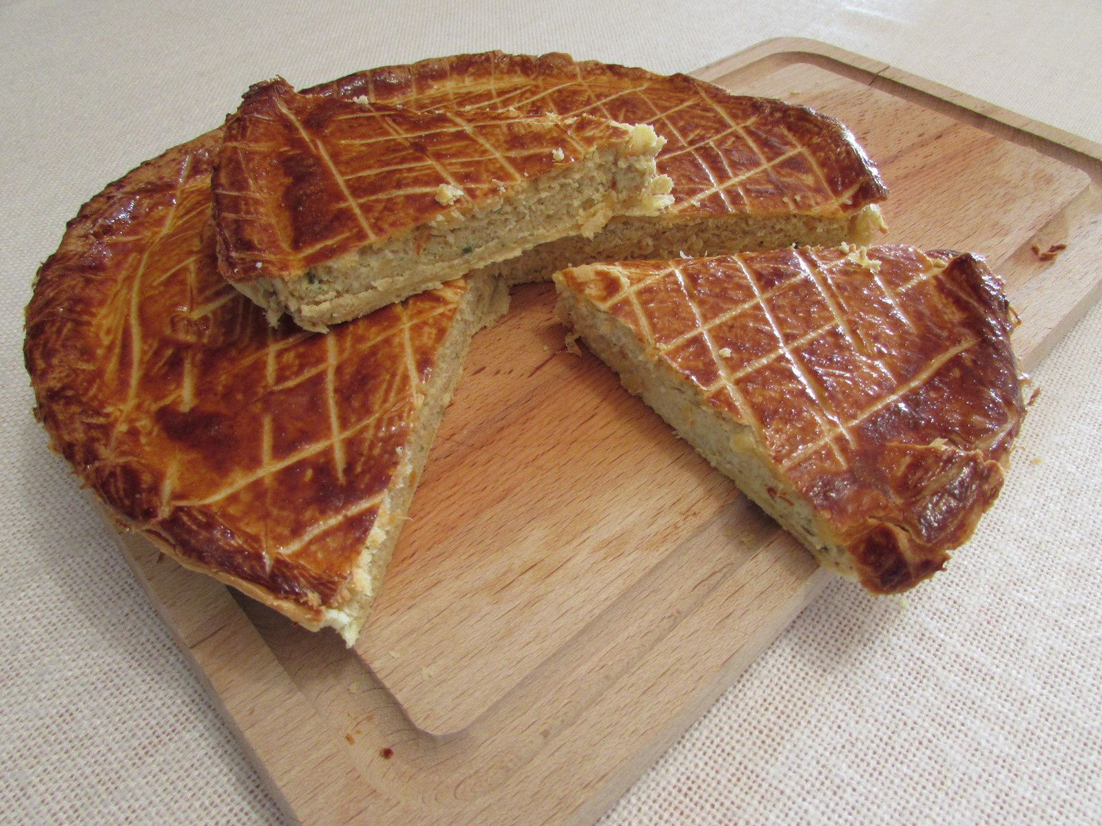 Tourte au saumon