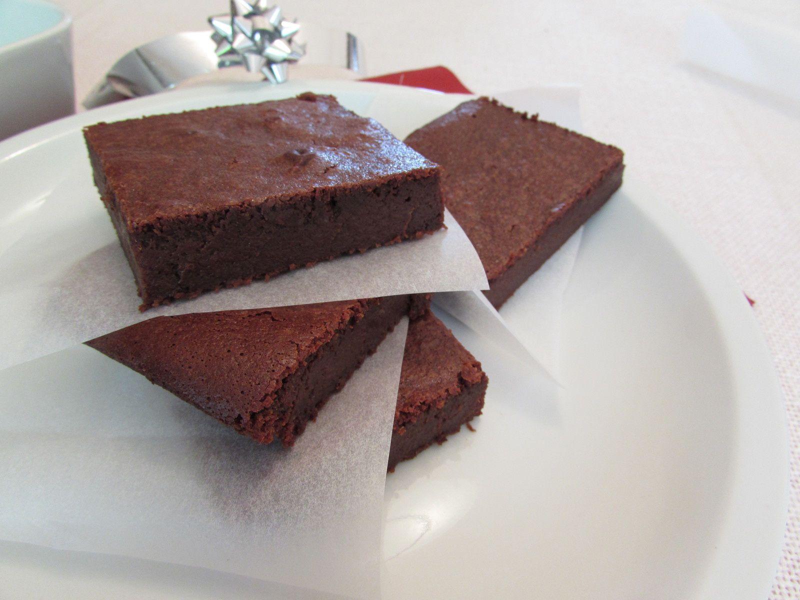 Brownie au chocolat « sans complexe »