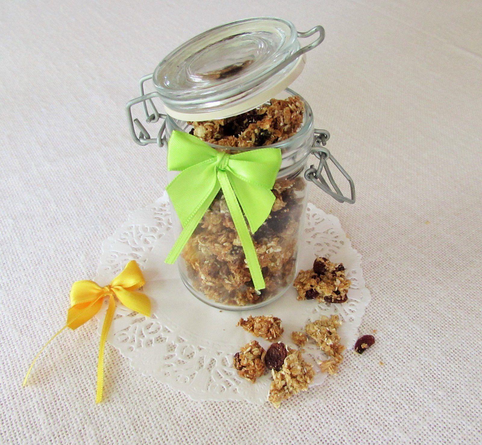 Granola avoine &amp&#x3B; raisins secs