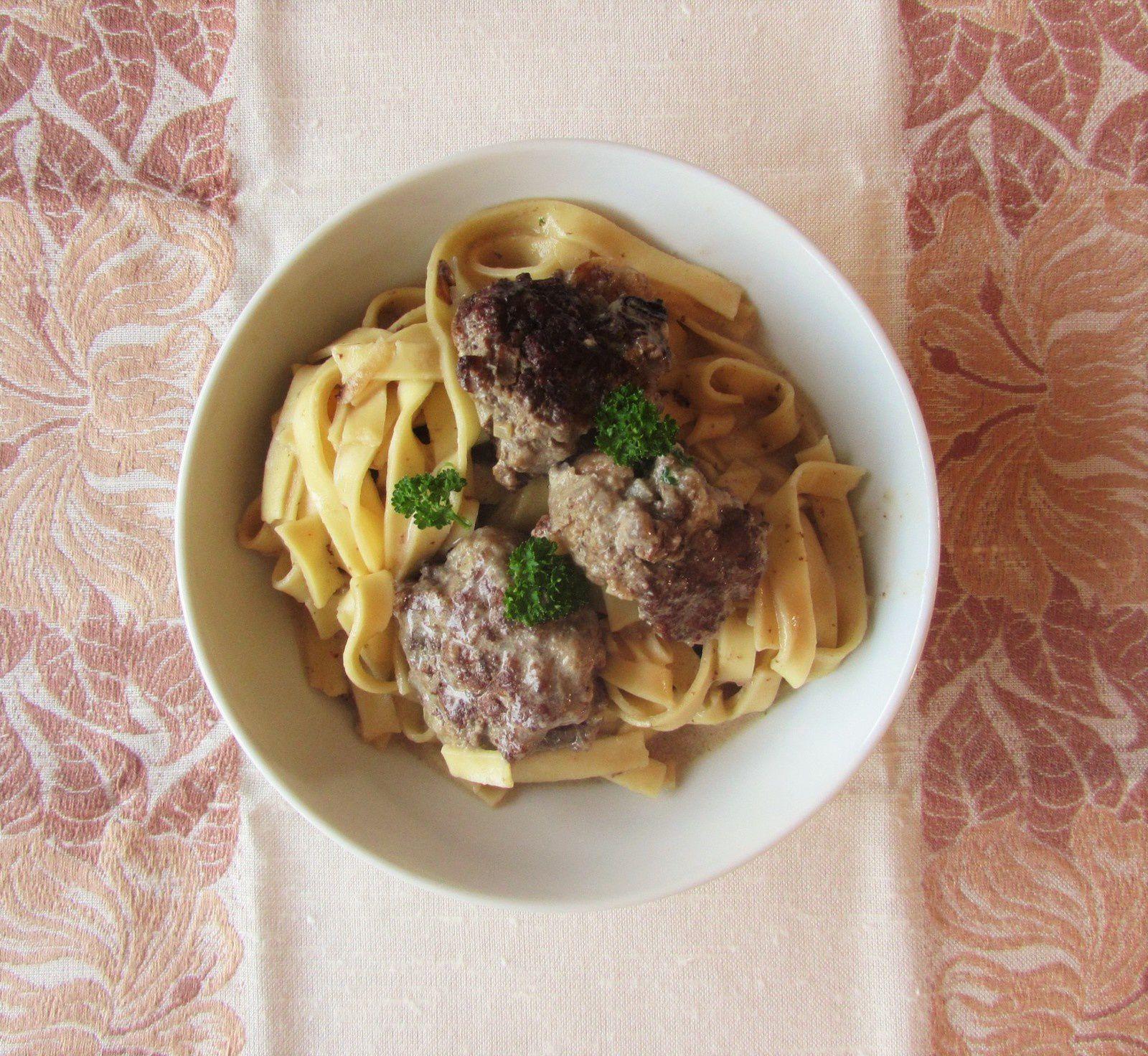One pot pasta suédois