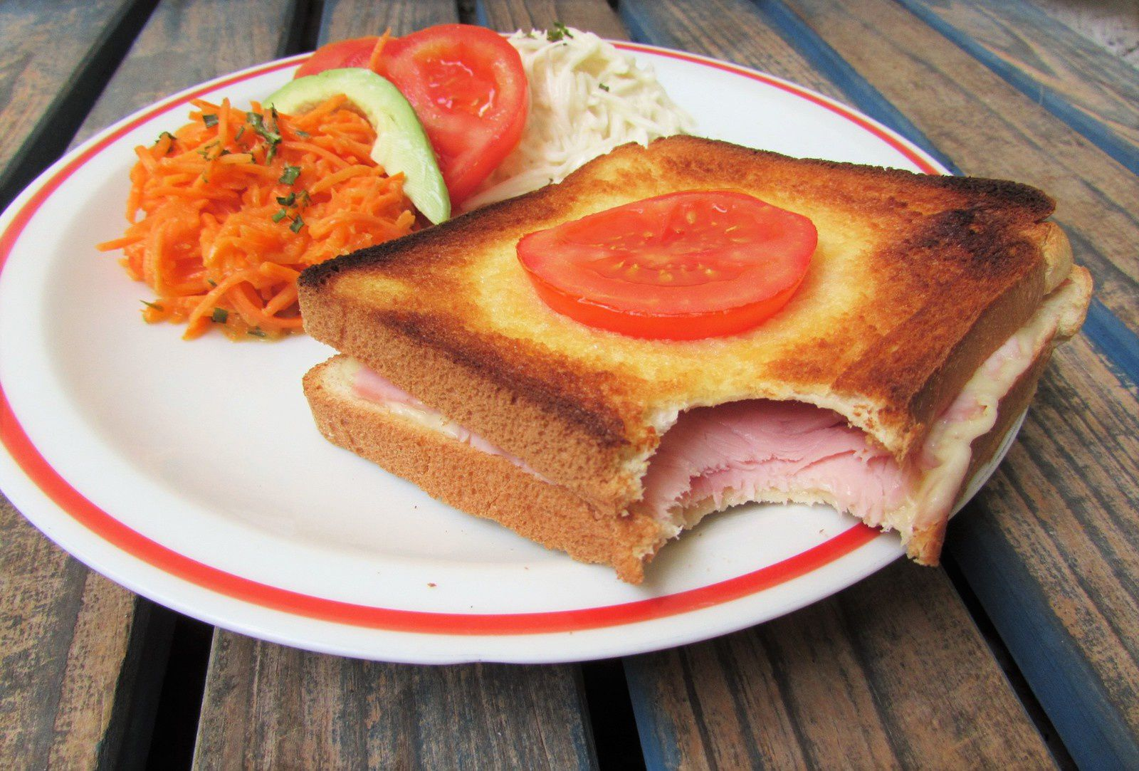 Croque-monsieur traditionnel