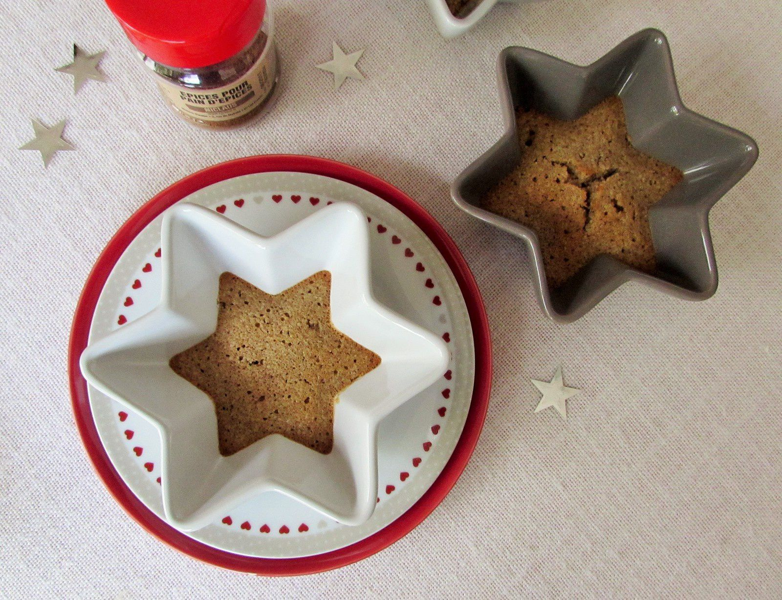 Financiers aux épices de #Noël
