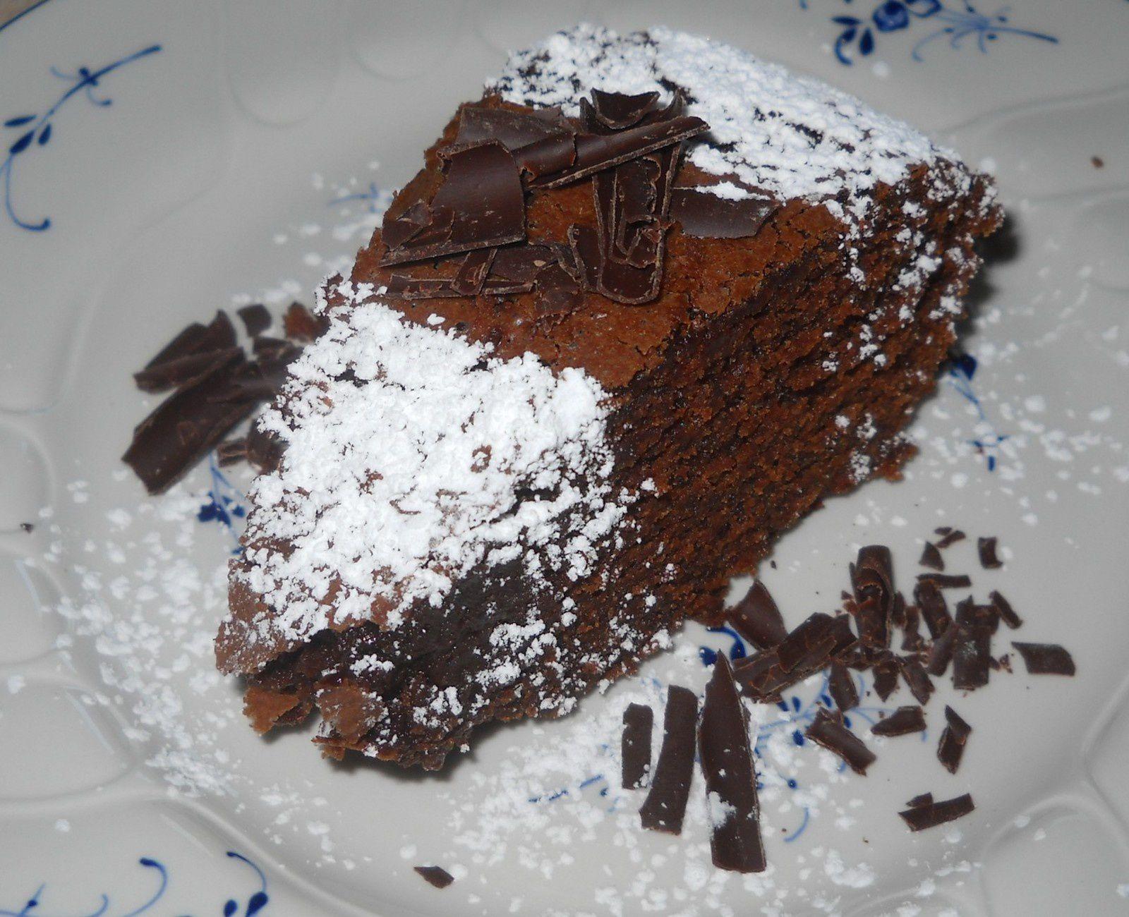 Gâteau au chocolat de ta cousine