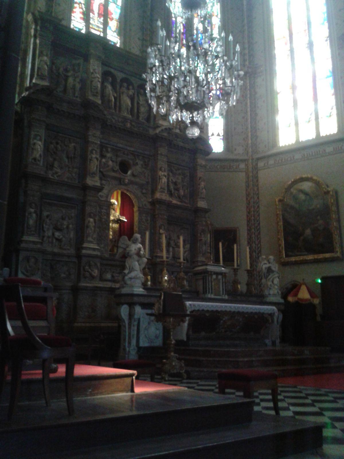 Choeur de la Cathédrale  St Jean Baptiste de Perpignan