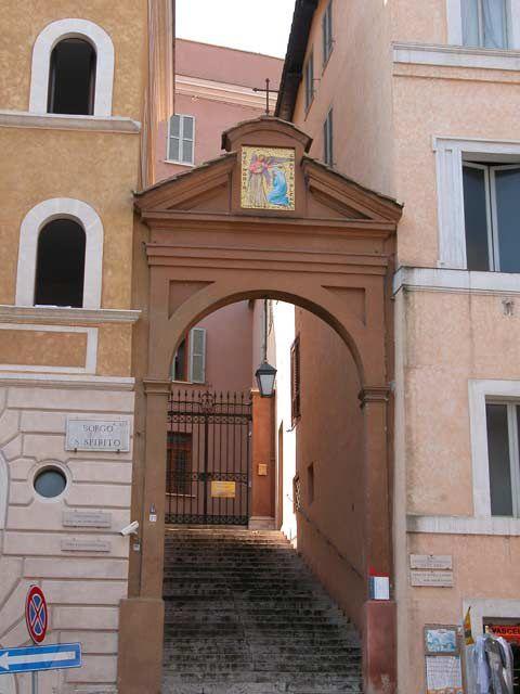 Eglises de Rome méconnues: Scala Santa