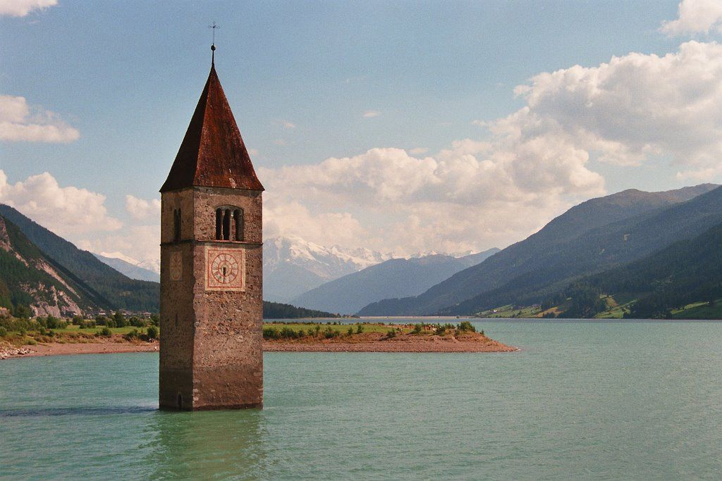 l'église noyée