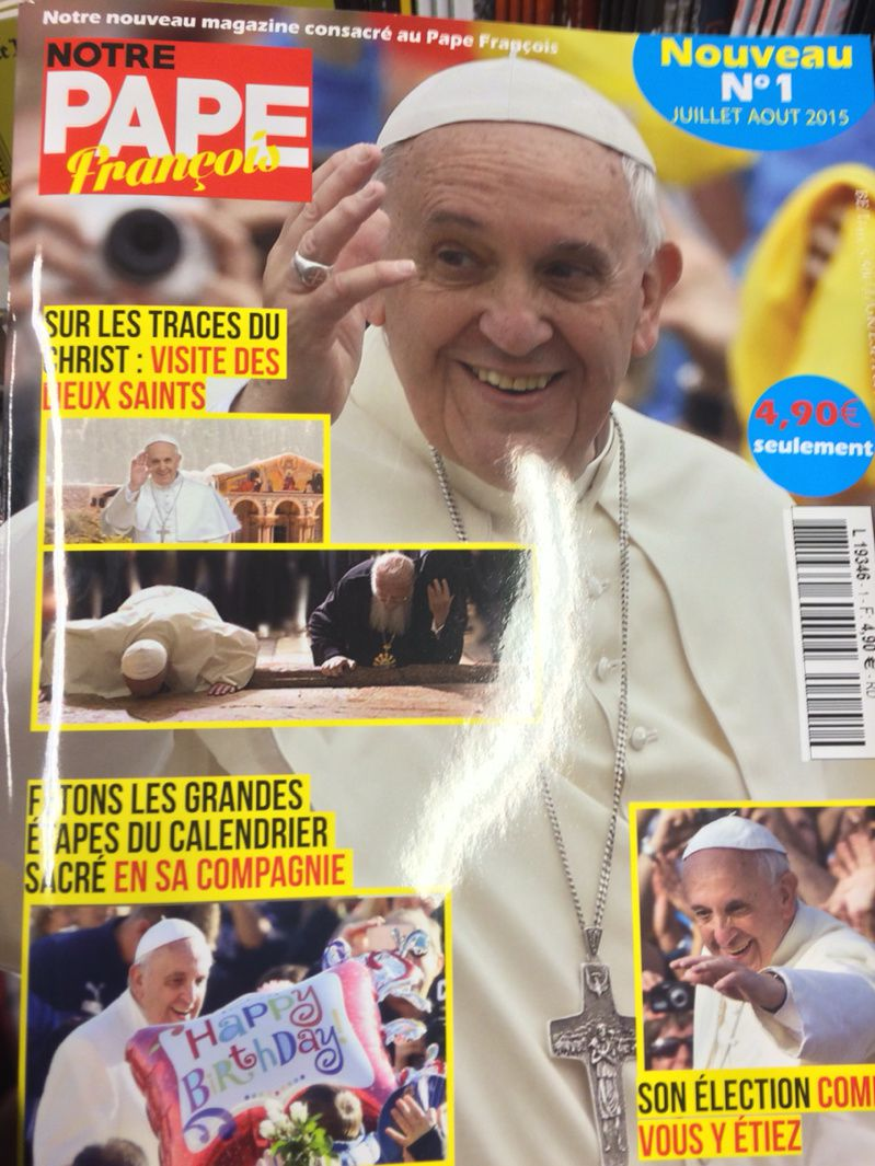 Tabloïd pope ??? Quelle honte !
