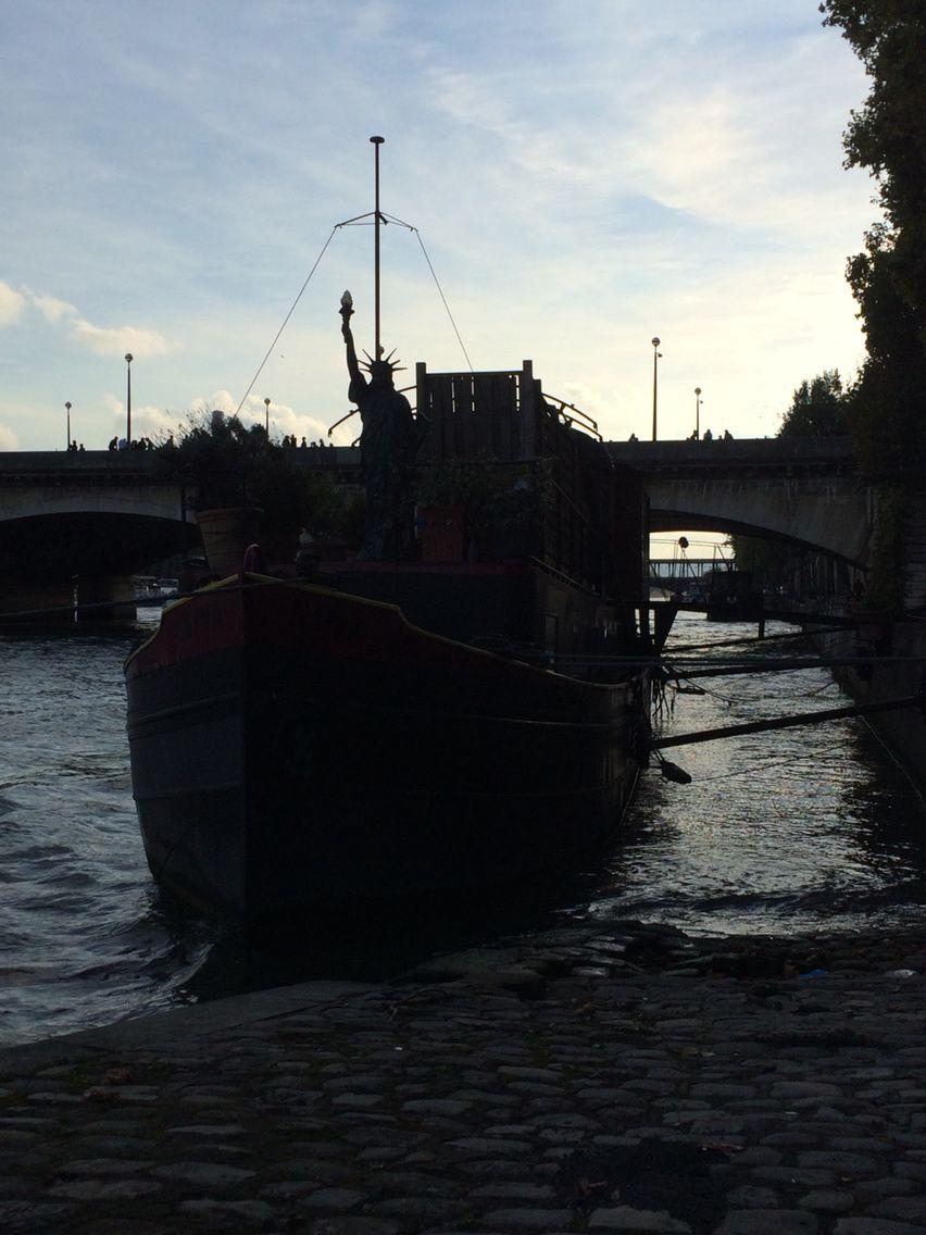 Ballade en bord de Seine