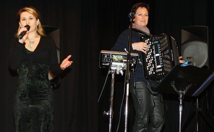 sylvie accordeoniste - galette des rois - animation - anniversaire - normandie