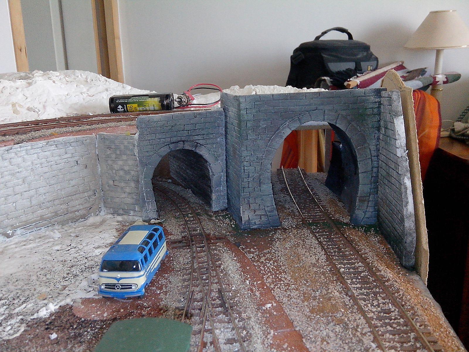 Les tunnels de Quivaou-Gare