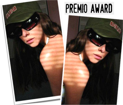 I Have been Tagged with the Premio Award!