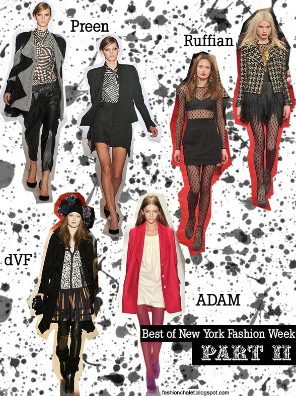 New York Fashion Week: Part II !!