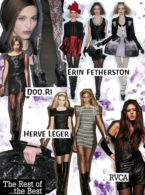 Pretty Things: Doo.Ri, Erin Fetherston, RVCA, and Hervé Léger