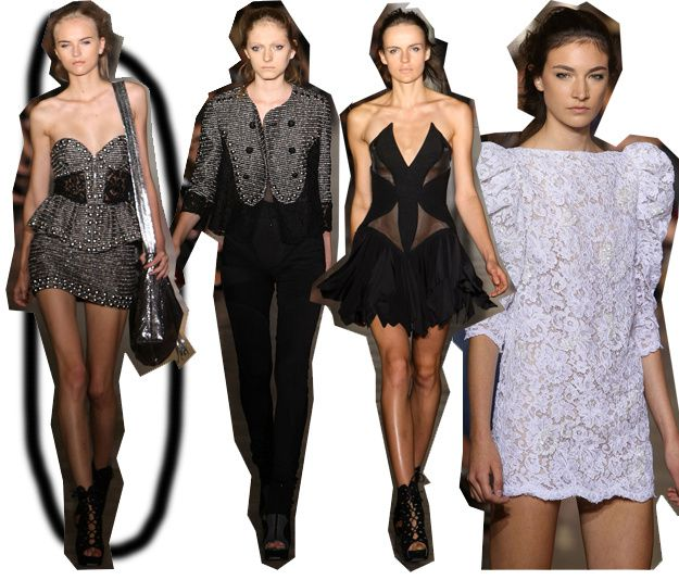 Jill Stuart. The New Balmain? And how about some more Wang?