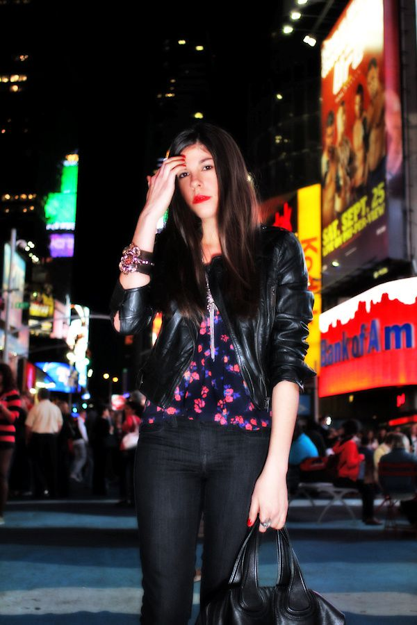 Fashion's Night Out + Times Square