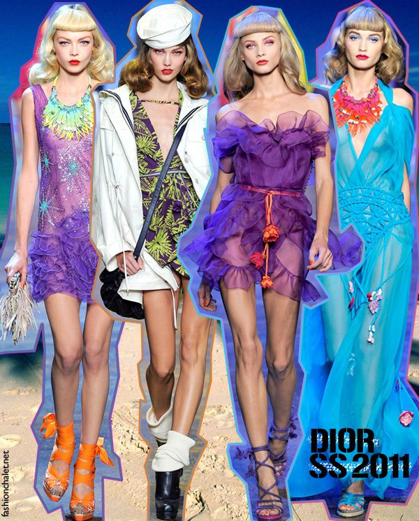 10.10.10. Dior SS 2011 / & Brashy Couture  Winners!