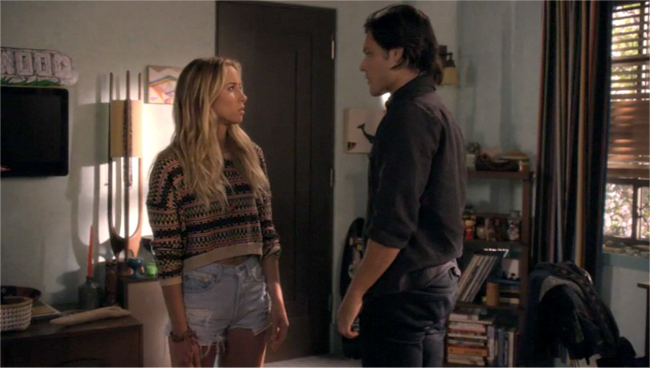 Gillian Zinser on 90210