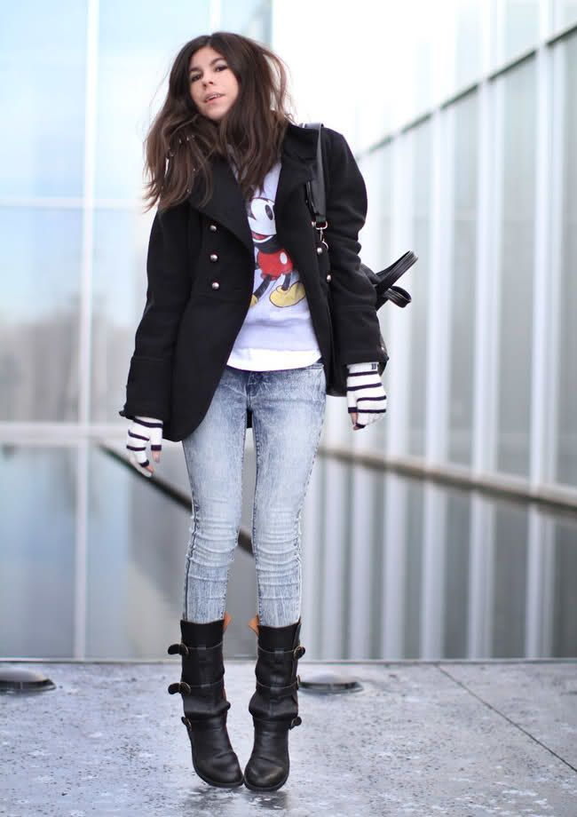 mickey mouse, urban outfitters, fiorentini + baker boots