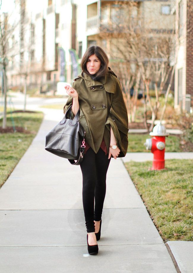 Winter Cape, Suede shoes