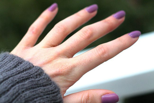 Lilac Nail Polish \ Worthy of the Unicorns