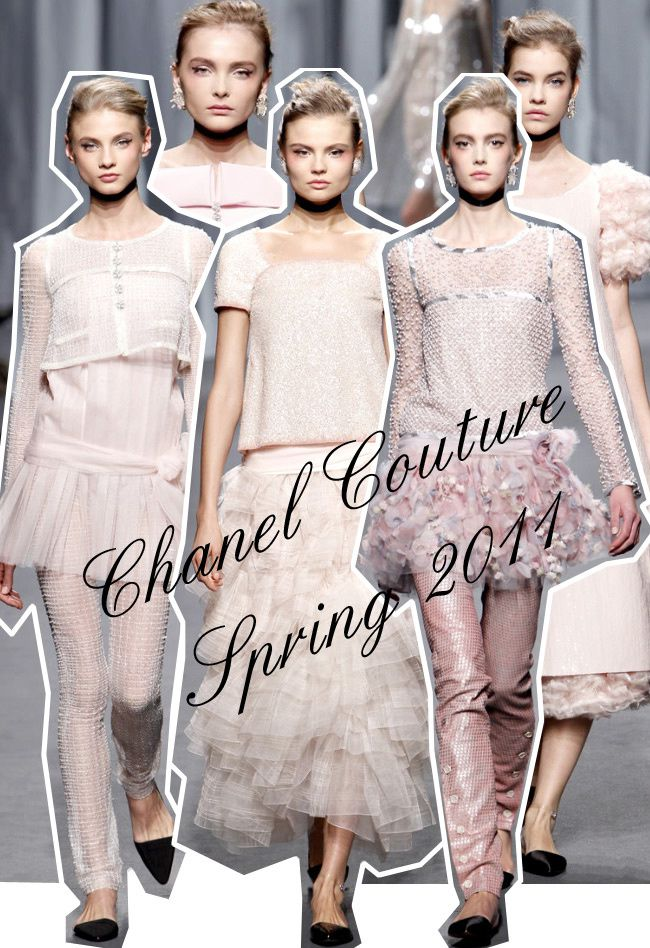 Chanel SS 2011, Paris Fashion Week