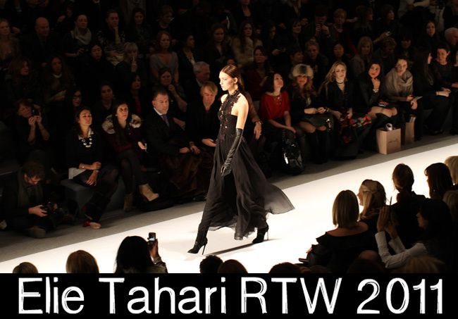 Elie Tahari Fall 2011 Ready To Wear, New York Fashion Week