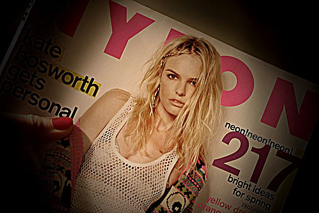 Nylon magazine, Kate Bosworth, Fashion