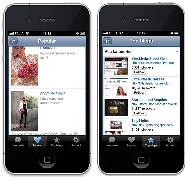 Bloglovin' for iPhone + iPod Touch
