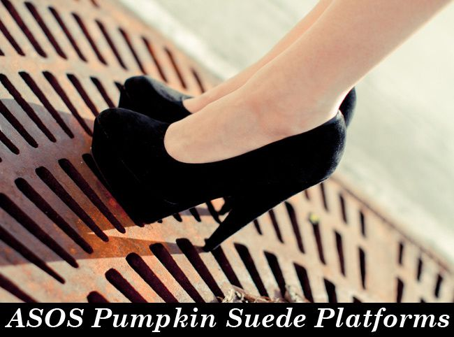 Asos Suede Pumpkin Shoes