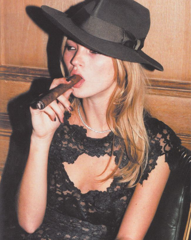 Kate Moss, Fashion model, Style