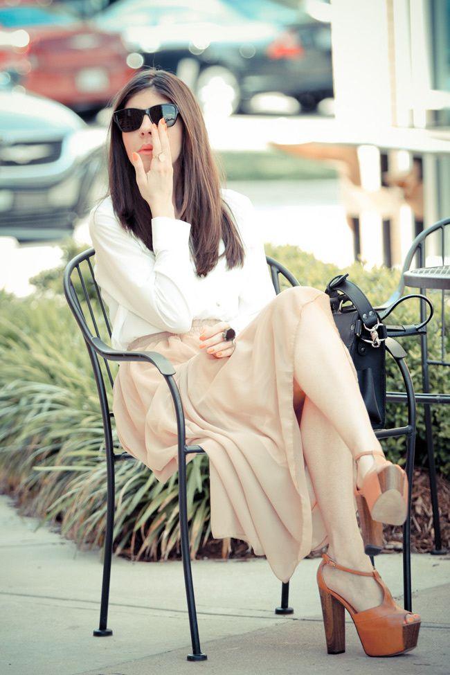Maxi Skirt, Jessica Simpson Dany, Halston eyewear sunglasses