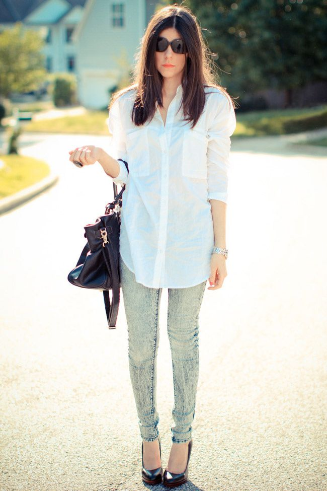 White Blouse, Blue Jeans