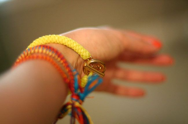 Fluorescent and Friendship Bracelets, Fashion