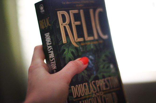 Neon Nail Polish, The Relic book