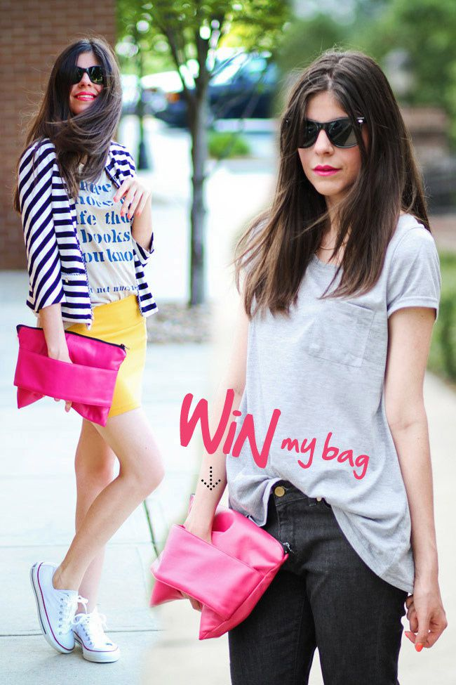 Win A Hot Pink Clutch c/o Romwe!!