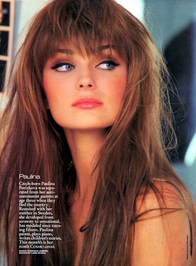 Paulina Porizkova, Fashion Model