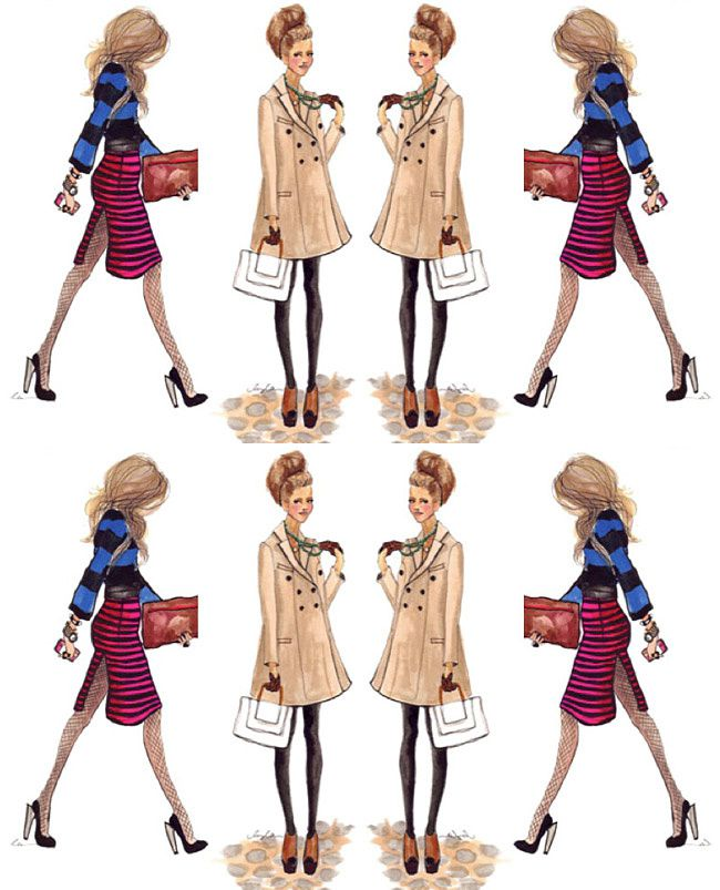 Fashion Outfits, Style Inspiration, Prada, Burberry, Celine, Stella McCartney, Fall Dressing, Fashion Collage