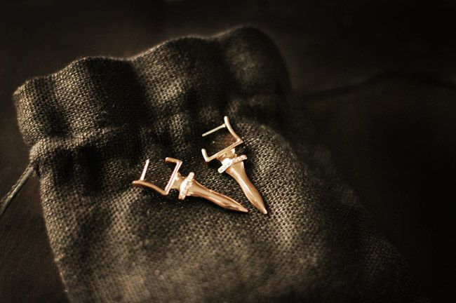 Sachin Babi Dagger Earrings, Fashion jewelry