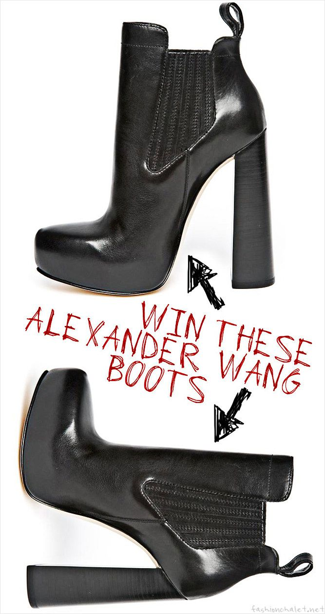 Alexander Wang ankle boots, Fashion, shoes, Style