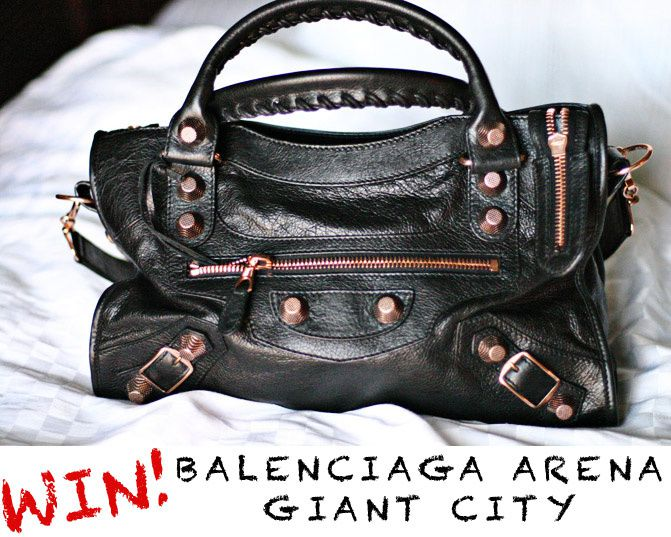 Balenciaga Arena Giant City Bag, Fashion, Kardashian, Nicole Richie, Barneys New York
