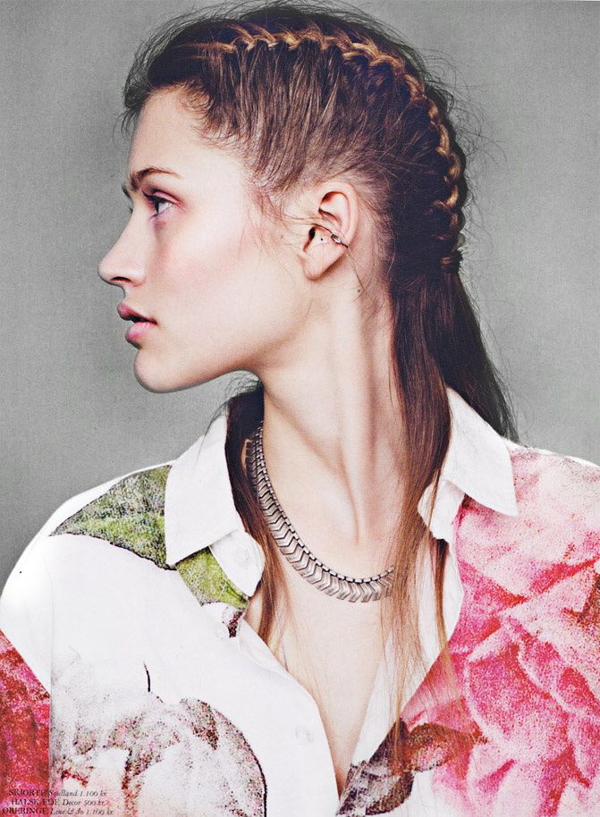 Fashion editorial, inspiration, Braids