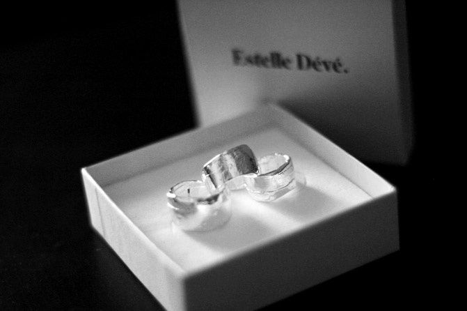 """ GIVEAWAY "" 3 Ring Silver Set by ESTELLE DÉVÉ"