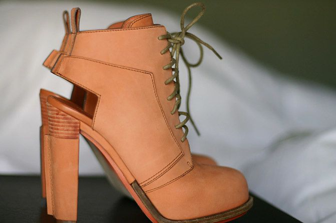 """ NEW IN "" Alexander Wang Dakota Lace-Up Boots + GIVEAWAY!"