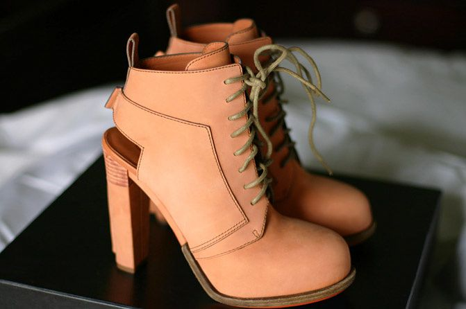 Alexander Wang Dakota Lace Up Booties, Alexander Wang Dakota Boots Terracotta, Fashion
